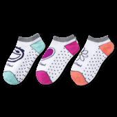 3-Pack Women's Jake, Daisy, Heart Low Cut Socks