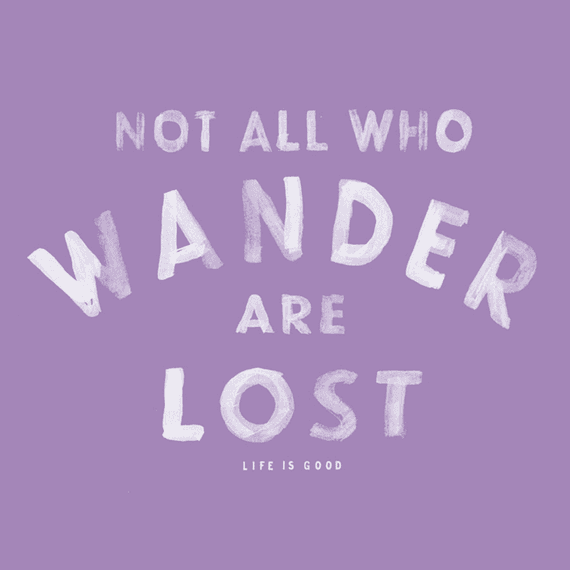 Wander Lost Wall Art