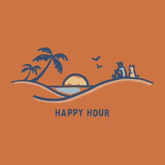 Happy Hour Sunset Wall Art