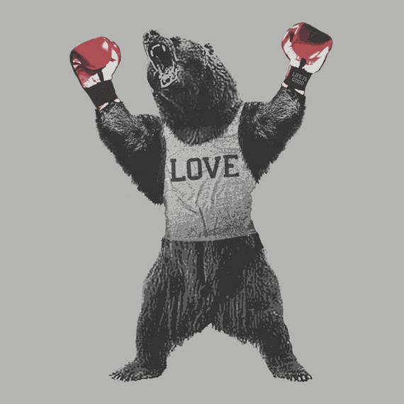 Bear Boxer Wall Art