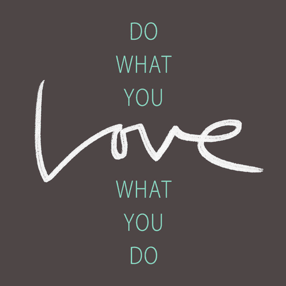 Do What You Love Wall Art