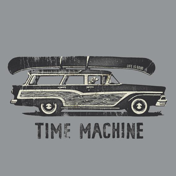 Time Machine Wagon Wall Art