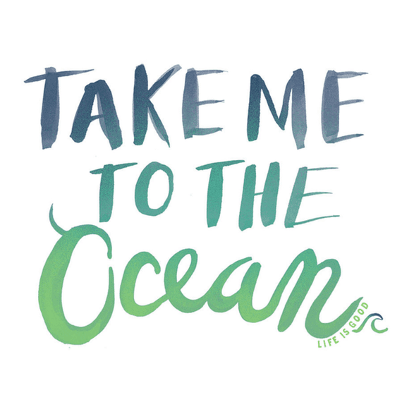 Take Me Ocean Wall Art