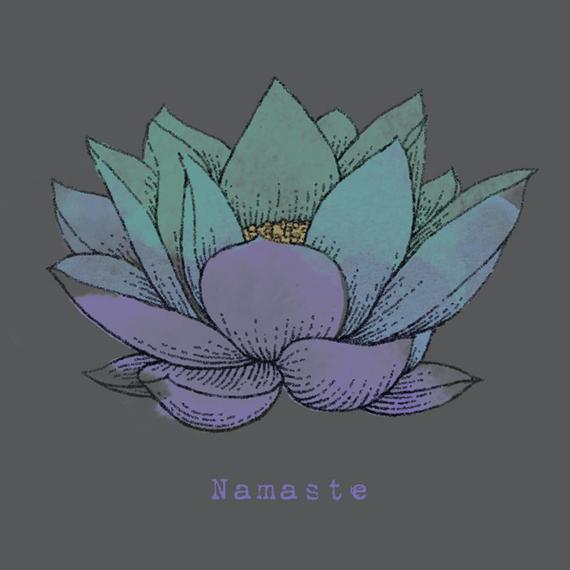 Namaste Lotus Wall Art