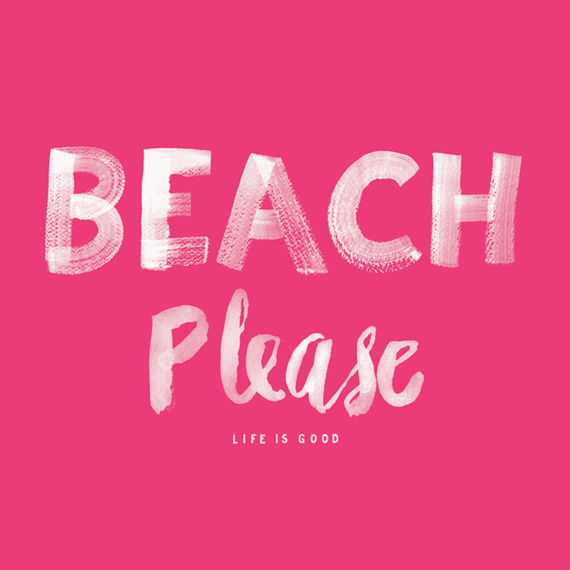 Beach Please Wall Art