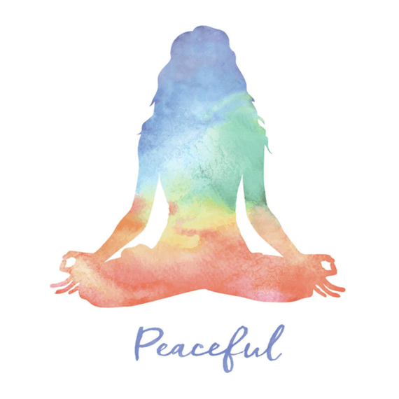 Peaceful Yoga Wall Art