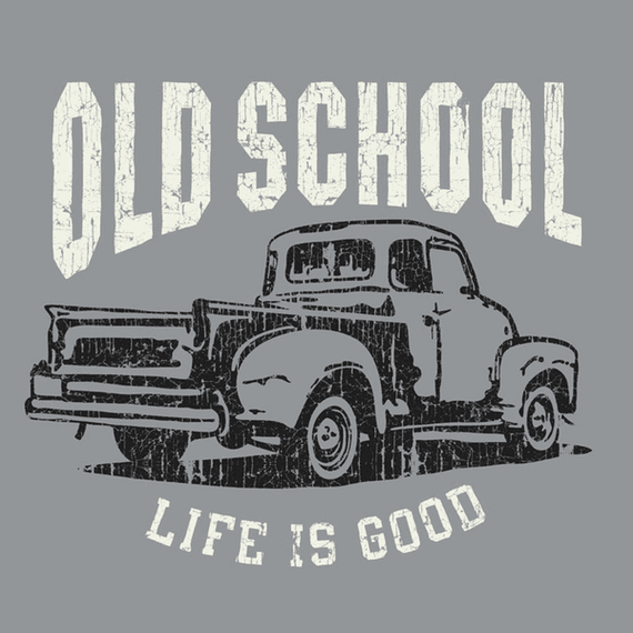 Old School Truck Wall Art