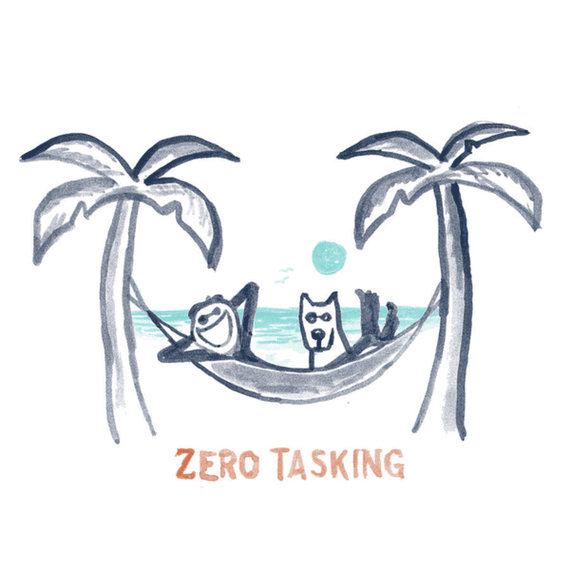 Home Zero Tasking Hammock Wall Art | Life is Good® Official Site