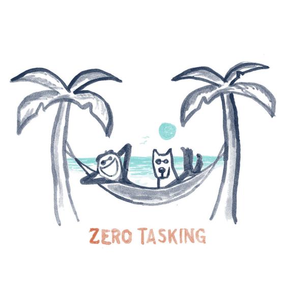 Zero Tasking Hammock Wall Art