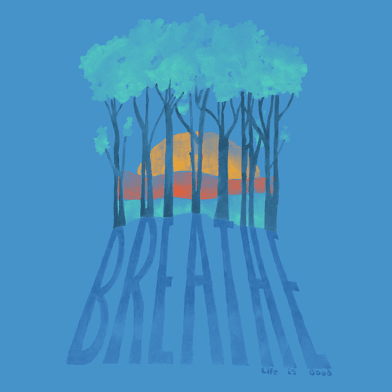 Breathe Trees Wall Art
