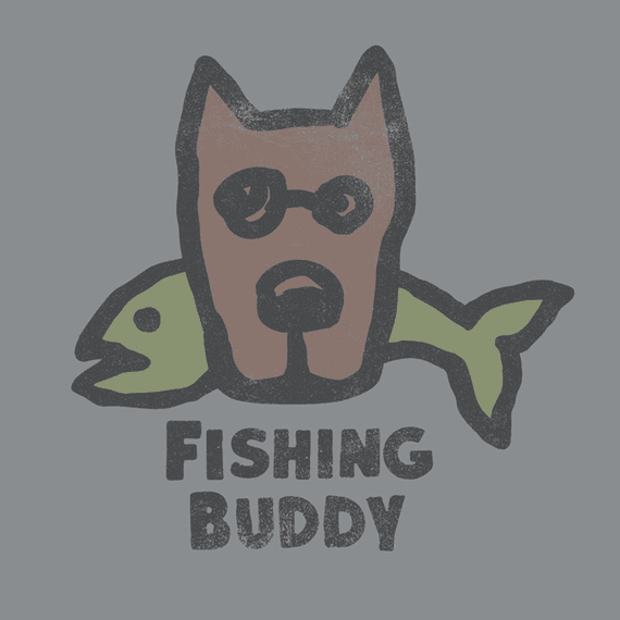 Fishing Buddy Wall Art