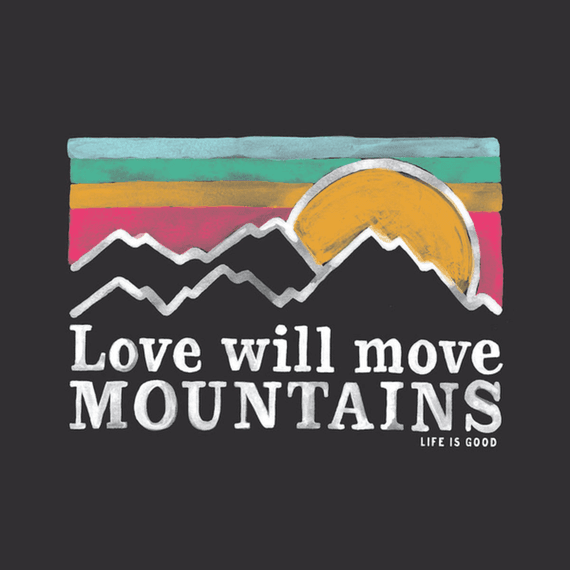 Love Will Move Mountains Wall Art