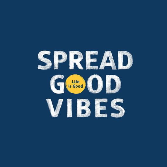 Spread Good Vibes Dot Wall Art