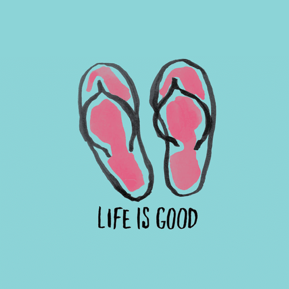 Flip Flops Wall Art  sc 1 st  Life is Good & Home Flip Flops Wall Art | Life is Good® Official Site
