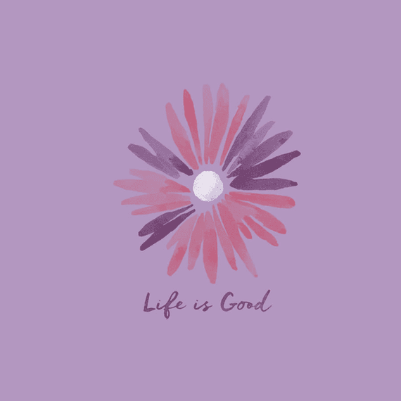 Daisy Life Is Good Wall Art