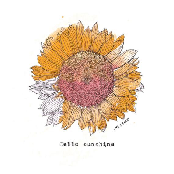 Sunflower Engraved Wall Art
