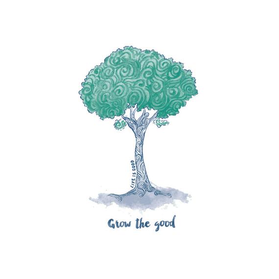 Grow Tree Swirl Wall Art
