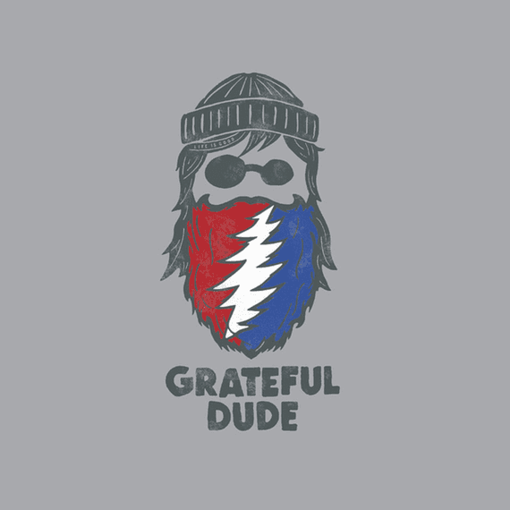 Grateful Beard Wall Art