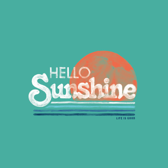 Hello Sunshine Stripe Wall Art