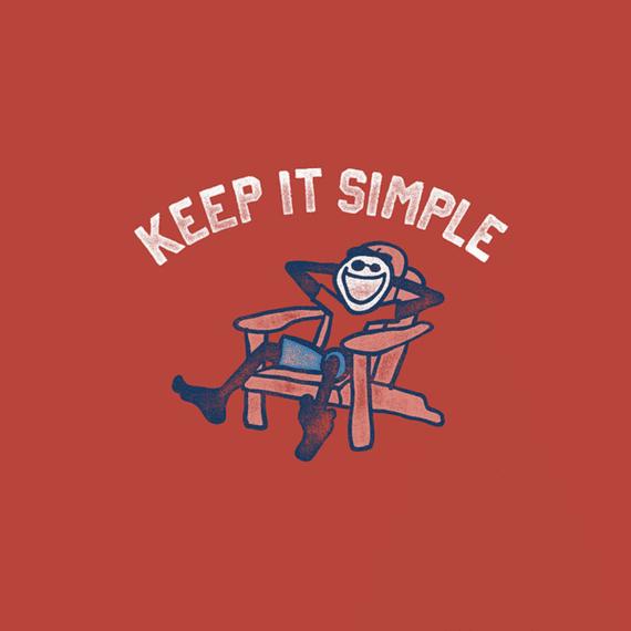 Keep It Simple Jake Adirondack Wall Art