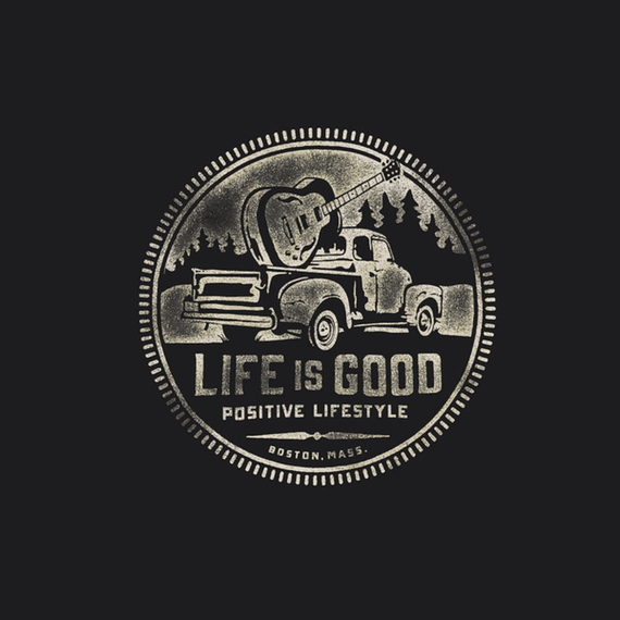 Positive Lifestyle Truck Wall Art