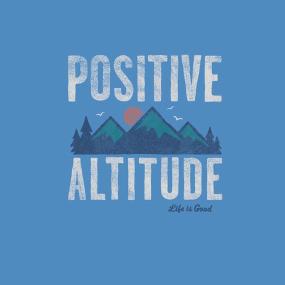 Positve Altitude Mountain Wall Art