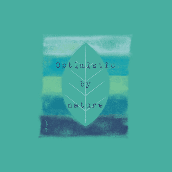 Optimistic By Nature Stripes Wall Art