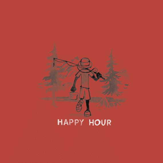 Happy Hour Fish Wall Art