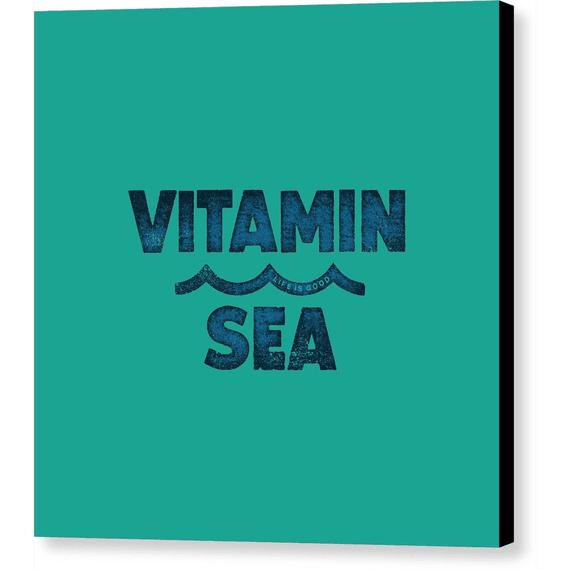 Vitamin Sea Wall Art