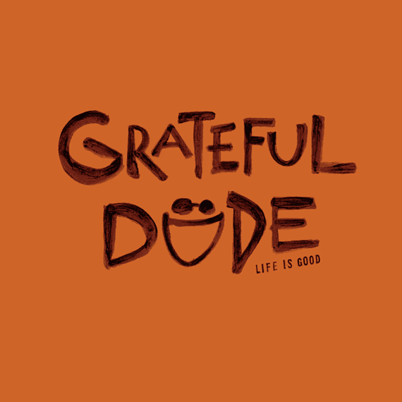 Grateful Dude Painted Wall Art