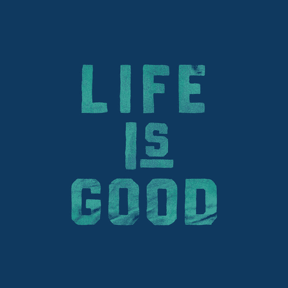 Life Is Good Stack Wall Art