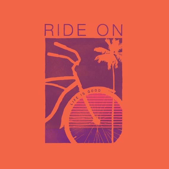 Ride On Bike Wall Art