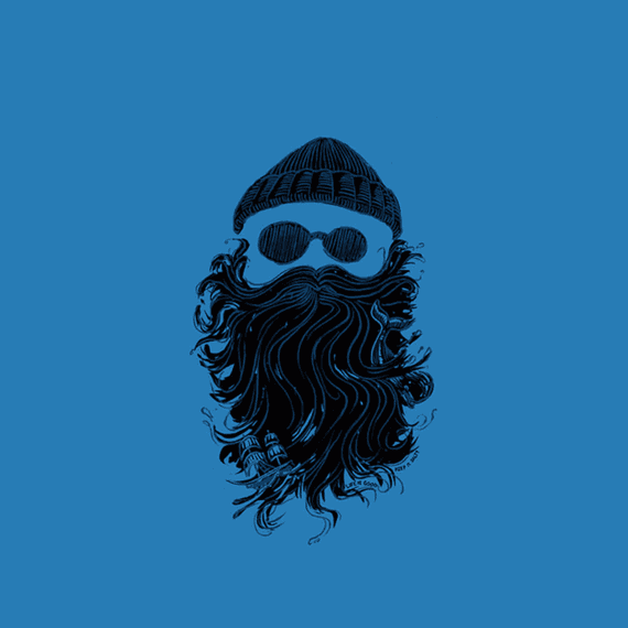 Salty Beard Wall Art