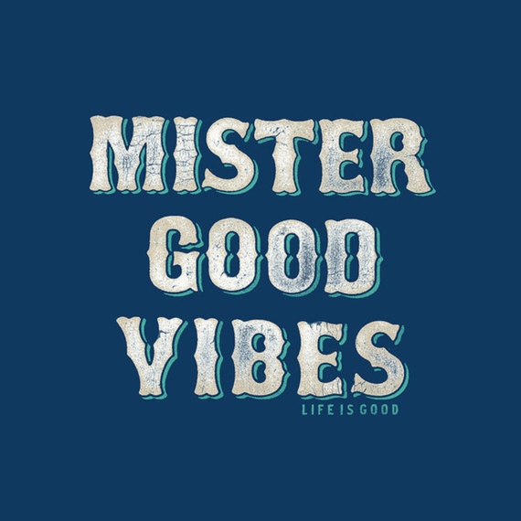 Mister Good Vibes Wall Art