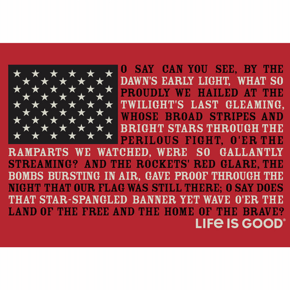 Star Spangled Banner Graphic Print