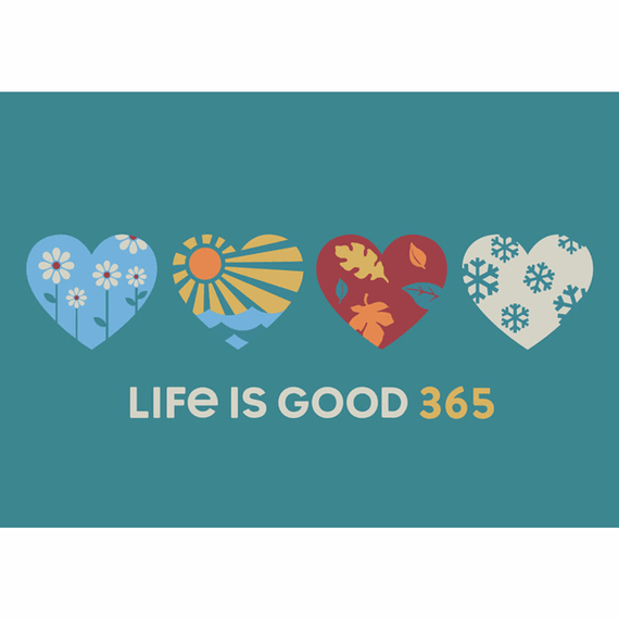 365 Hearts 20X16 Poster