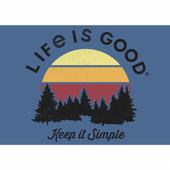 Keep It Simple 20X16 Poster