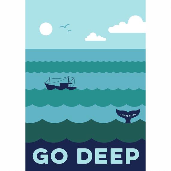 Go Deep 16X20 Poster