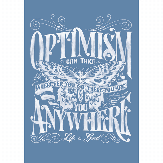 Optimism Butterfly 16X20 Poster
