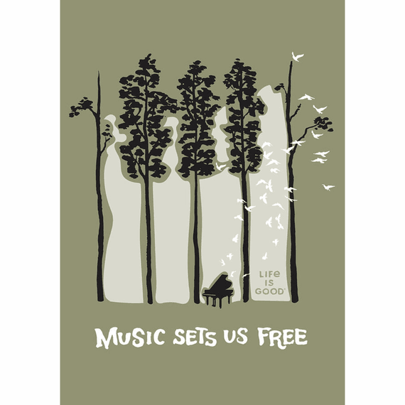 Piano Trees 16X20 Poster