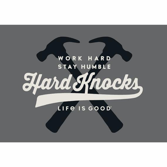 Hardknocks 20X16 Poster