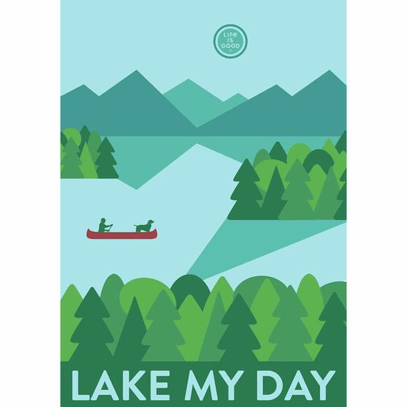 Lake My Day 16X20 Poster