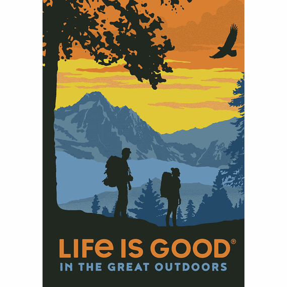 Great Outdoor Camp 16X20 Poster