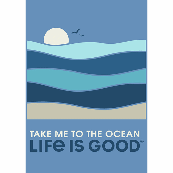 take me to the ocean 16x20 poster