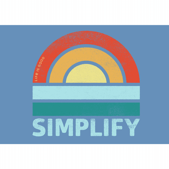 Simple Sun 20X16 Poster