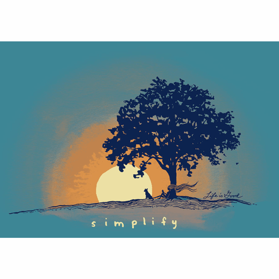 Simplify Outside 20X16 Poster