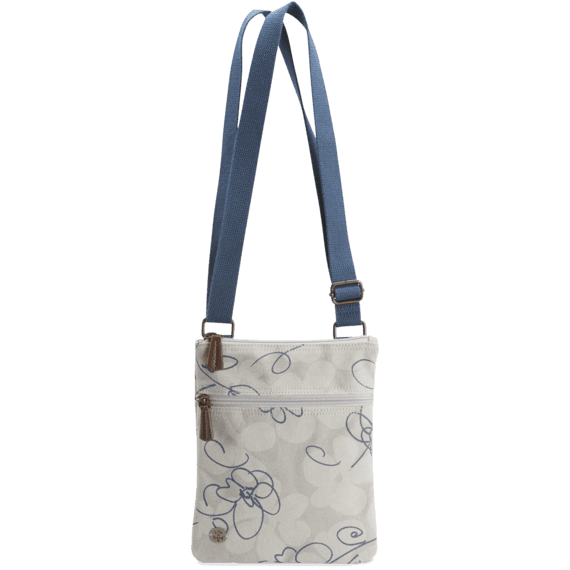 All Over Flowers Cross Body