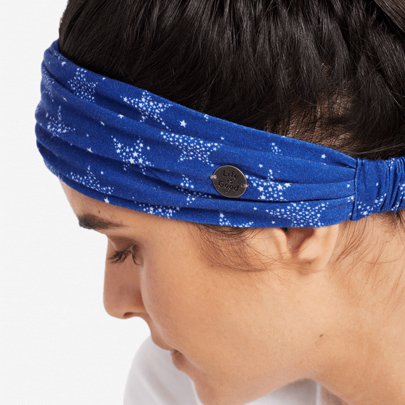 All Over Stars Happy Headband