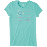 Women's Land of the Free Aly Tee
