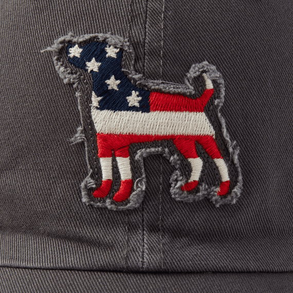 Americana Dog Tattered Chill Cap